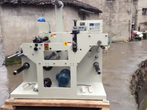 Rtqh-420 Paper Rotary Die-Cutting Machinery with Turrent Rewinder pictures & photos
