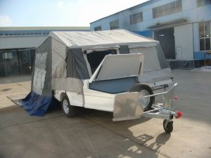 off Road Light Weight Fiberglass Folding Trailer and Folding Caravan (LH-FC-11A) pictures & photos