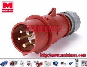 Industrial Plug 16A 3p+N+PE IP44 (MN1501)