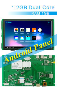 10.2 Inch Android Panel & Android Tablet, Capacitive Touch Screen, HDMI, WiFi, Ethernet,