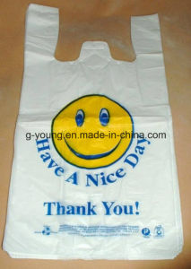Supermarket Plastic T-Shirt Bags for Shopping pictures & photos