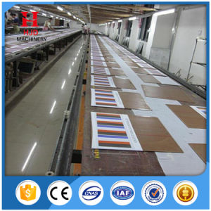 Automatic Going T-Shirt Oval Screen Printing Table pictures & photos