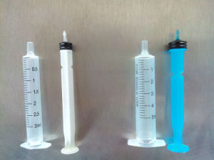 Auto Disable Sterilized Medical Syringe 5ml pictures & photos