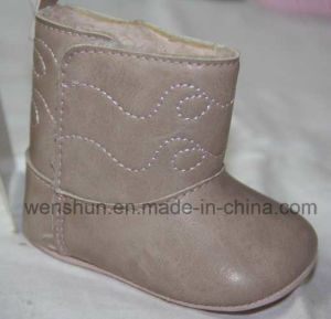 PU Leather Baby Boots Ws1314 pictures & photos