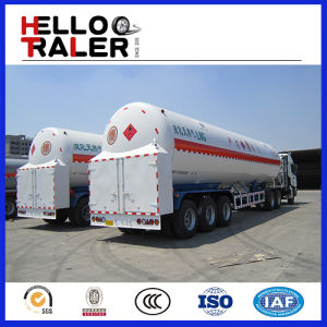 International Standard 55600 Liters LNG Tank Trailer pictures & photos