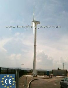 Green Energy Low Noise With SKF Bearings Wind Turbine 100kw