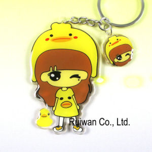 Promotional Gift Figure Keychain (KCA090) pictures & photos