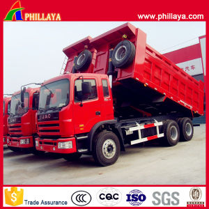 3 Axles Tipper Semi Trailer with Volume Opptional pictures & photos