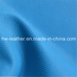 PU Synthetic Leather for Passport Case Hw-412 pictures & photos