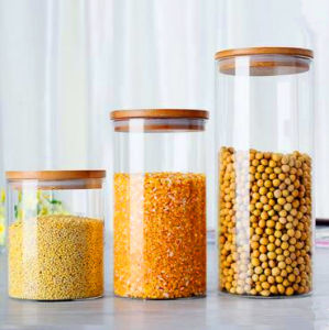 Eco-Friendly Food Grade Material Glass Jar Storage Food Jars pictures & photos
