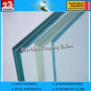 6.38-43.2mm AS/NZS2208: 1996 Bulletproof Bullet Proof Glass pictures & photos