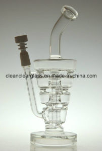 High Quality Top Sale New Hitman Glass Bon Smoking Water Pipe with Thick and Sturdy Glass pictures & photos