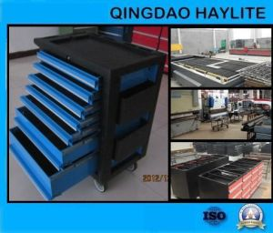 High Quality OEM Factory Garage Workshop Powder Coated Tool Trolley pictures & photos