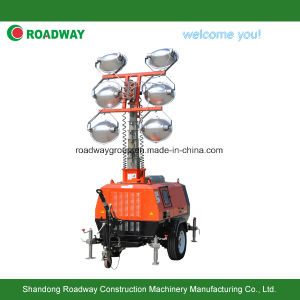 Hydraulic Light Tower with LED Lamp pictures & photos