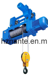 Standard Headroom Trolley Hoist SH Type (2/1 ROPEREEVING) pictures & photos