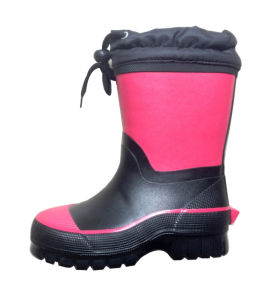 Children′s Waterproof Shoes for Winter pictures & photos