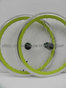 700c Fix Gear Bike High Quality CNC Wheel Sets pictures & photos