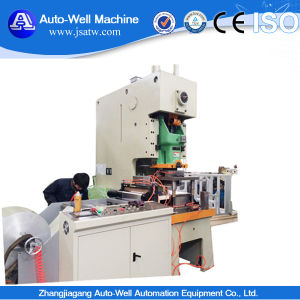 Automatic Aluminum Foil Food Container Machine with ISO pictures & photos