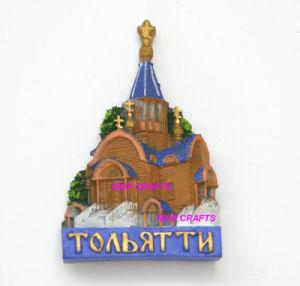 Resin Togliatti Russia Souvenir with Fridge Magnet pictures & photos