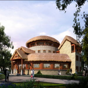 Front View Virtual Reality Architectural Rendering