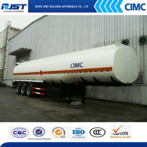 40m3 Fuel Tank Semi Trailer/Liquid Tank (WL9402GHY) pictures & photos