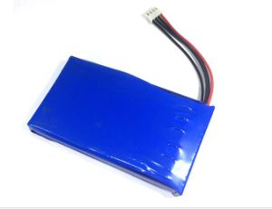 High Capactiy 105475 3.7V 5000mAh Li-ion Battery pictures & photos