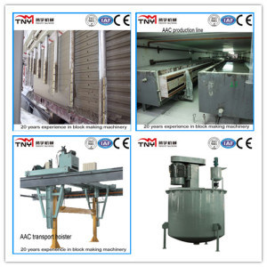 Autoclaved Aerated Concrete Block Making AAC Machine Production Line pictures & photos