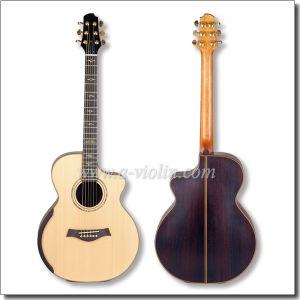 """40"""" Grand Auditorium Moondog Cutaway Acoustic Guitar (AFH131C-AA) pictures & photos"""