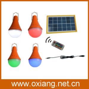 2015 Newest 3W Colorful Solar Llight with Remote Control pictures & photos