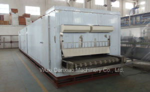 Mesh Belt Ice Cream Frozen Tunnel Freezer Machine pictures & photos