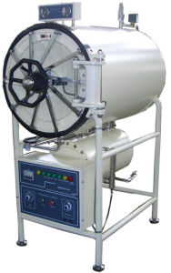 Larg Capacity Steam Strilizer, Horizontal Cylindrical Pressure Steam Sterilizer Have Stock pictures & photos