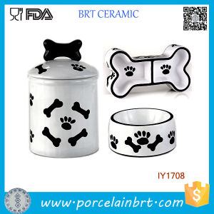 3PCS Storage Jar Food Water Bowl Pet Accessories Wholesale China pictures & photos