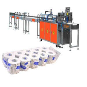 Coreless Toilet Paper Rolls Baler Packing Machine pictures & photos