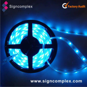 China SMD5050 PU Glue Potted 12/24V RGBW Flexible LED Strip pictures & photos
