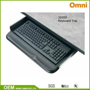 New Plastic Keyboard Tray for The Office Table (OM-KB-01) pictures & photos