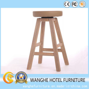Classic Wood Barstool for Hotel Furniture pictures & photos