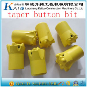 7 Buttons 7&11&12 Degree Taper Rock Drill Rod Parts Button Bits pictures & photos