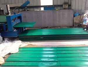 Color Corrugated Steel Plate for Building Materials pictures & photos