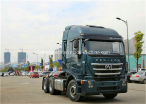 Low Price Saic Iveco Hongyan C100 480HP 6X4 Tractor Head / Truck Head / Trailer Head / Tractor Truck Euro4 (Blue) on Sale pictures & photos