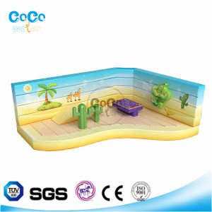 2016 New Theme Park Inflatabelr Castle Kids Indoor Playground LG9003