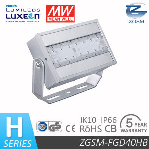 UL SAA Certificated 40W Meanwell Driver LED Floodlight with Philips Chip 5 Years Warranty pictures & photos