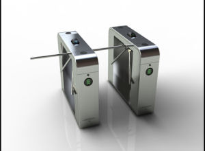 Barcoder Control Full Automatic Tripod Turnstile pictures & photos