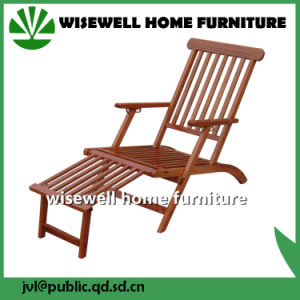 Wood Foldable Outdoor Chaise Lounges pictures & photos