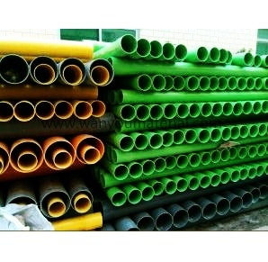 Yellow Green Orange PVC Water Pipe pictures & photos