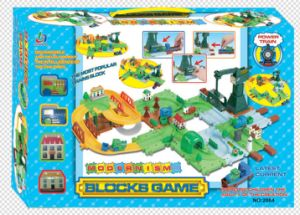 Blocks Game Track Toys Train Series pictures & photos