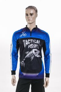 Healong Fully Sublimation Wholesale Fishing Shirts Sportswear Sun-Protective pictures & photos