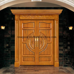 Wood Entrance Door, Villa Entrance Door, Wood Doulbe Entrance Door pictures & photos