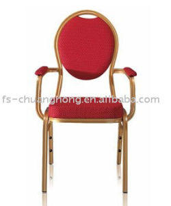 Rolling Back Hotel Chairs with Thick Arms (YC-D101) pictures & photos