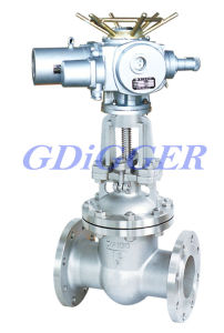 Motor Operated Gate Valve Flanged End