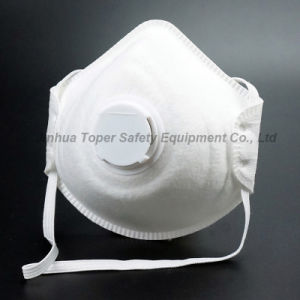 4-Ply Cup Type Face Mask with Valve (DM2020) pictures & photos